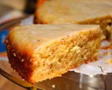 Recetas con almendras receta bizcocho for Bizcocho de yogur y almendra