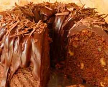 Bizcocho de Chocolate y Nueces